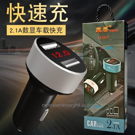 mosomax-M107 двойной порт автомобильное зарядное устройство экспортеров