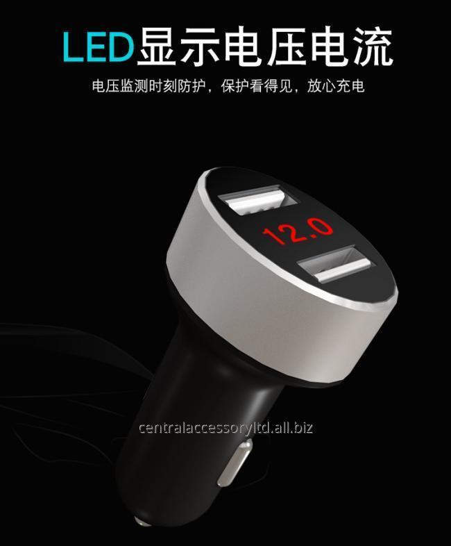 mosomax-M107 двойной USB автомобильное зарядное устройство