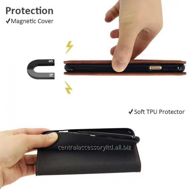 Трубка Защитный чехол Wallet