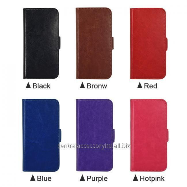Handset Leather Credit Card Case