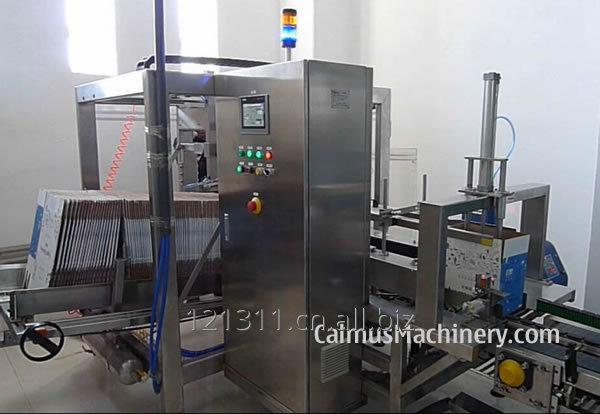Box Erecting of Bag-in-Box Packaging Line