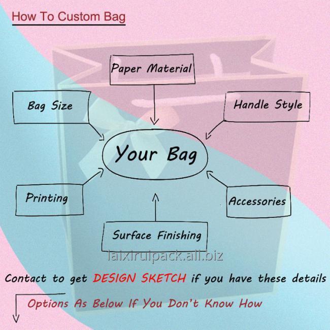 how to custom bag