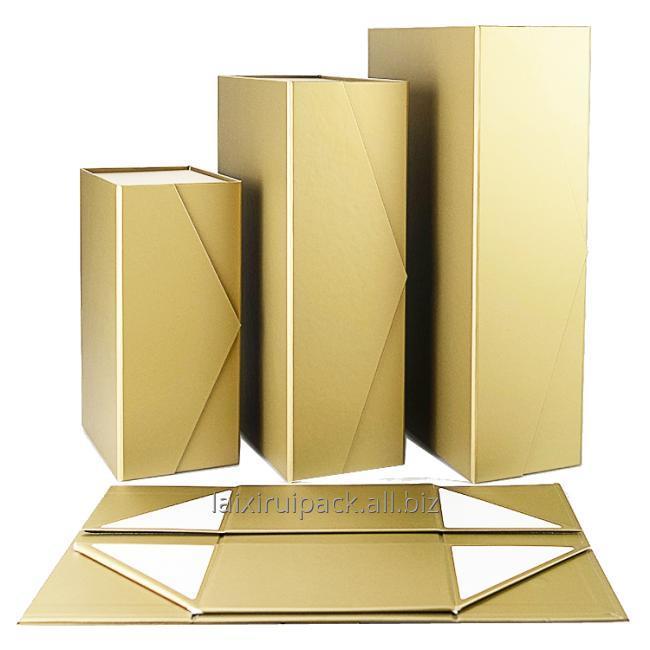 foldable box top