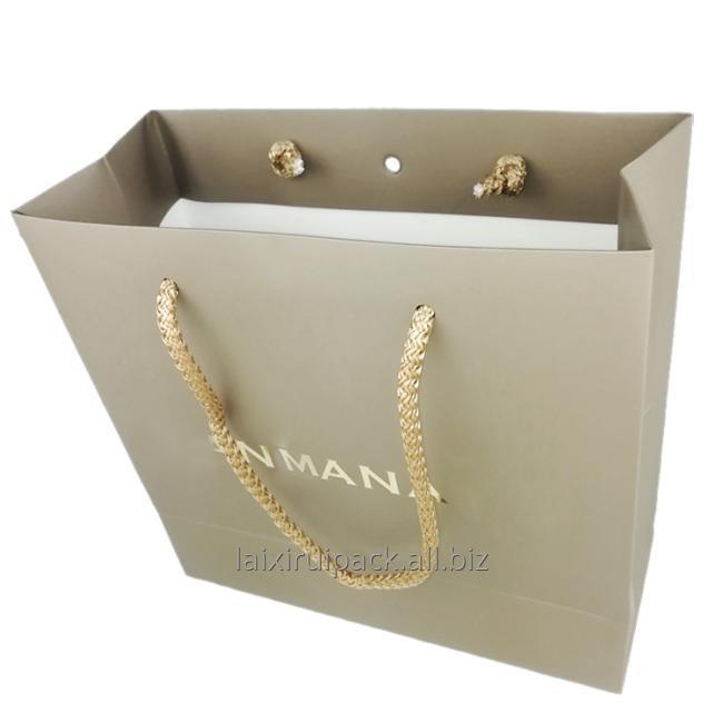 gold stamping clothing bag