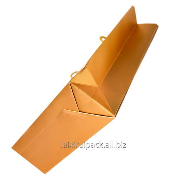 gold paper bag for shopping
