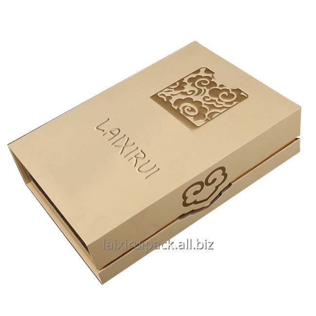 hot stamping paper box flip lid