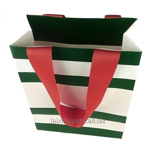 luxury shopping bag paper material