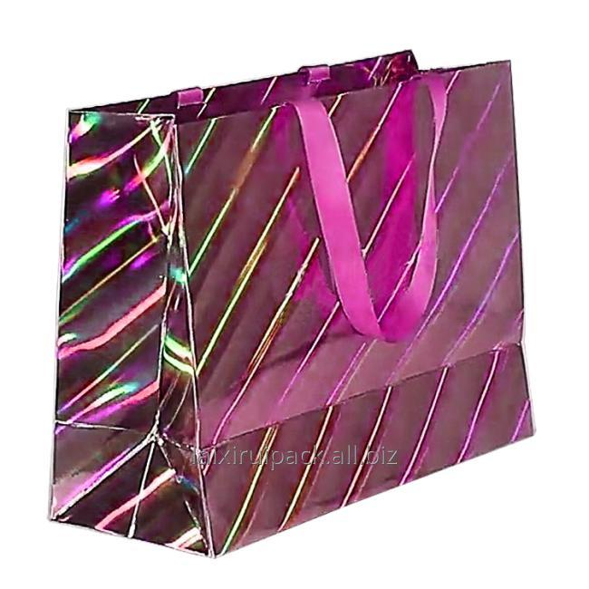 cosmetic paper bag colorful