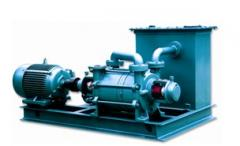 Vacuum water-ring pumps
