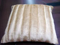 Pillows seat backs