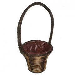 Rattan flower baskets