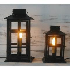 Metal electrical lantern