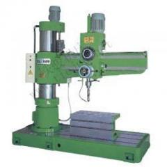 Radial arm-drilling