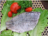 Tilapia Fillet, Skin-on