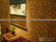 软 木墙纸