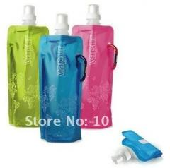Hot sell!! Newest folding foldable water bottle