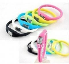 Hot Wrist sport Watch , silicone watch 1ATM