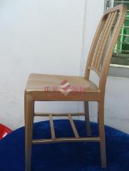 Les chaises et le siège