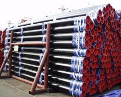 Pipes, seamless, corrosionresistat steel