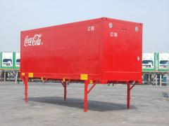 Stage loader, port, container