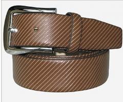 三合金扣腰带