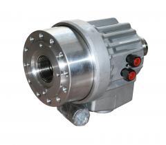 Machines helmsmans electrohydraulic cylinder type