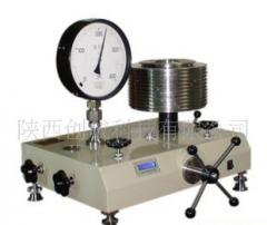 Pressure- and thrust measuring equipmant