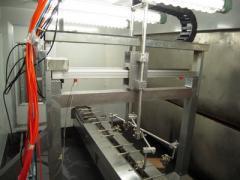 Apparatuses sand-blasting