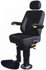 TR-001 圆钢立柱/气压升降 固定式驾驶椅