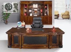 实木办公桌-02