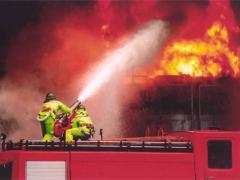 Cloths fire-retardant