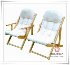 Wooden Relax Lounge Chair
