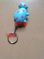 PU钥匙扣玩具球