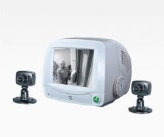 5.7寸 黑白有线家用安防系统 (GW206)