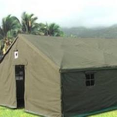 Tents camps officers