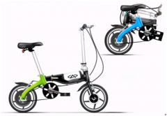Electric folding bicycle  CL-EF1004