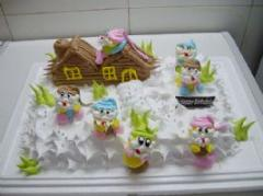 儿童蛋糕-小矮人