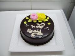 经典巧克力蛋糕-情意绵绵