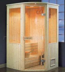 Wooden cabs for shower