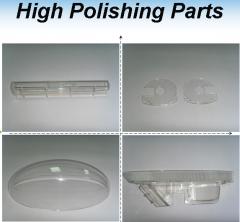 Equipment for polishing molds