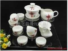 中国结玉瓷陶瓷茶具