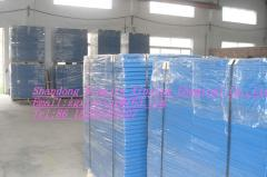 Polypropylene sheets, high and low pressure