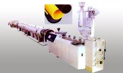 Extruders for the production of polymer filaments