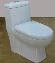 赛尼洁具供应高档畅销虹吸式陶瓷连体马桶座便器S3371