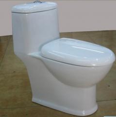 赛尼洁具供应高档畅销虹吸式陶瓷连体马桶座便器S3071