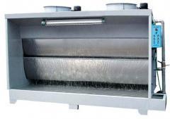 双工位水帘机