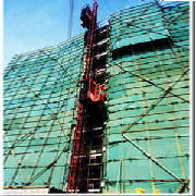 Elevators, builder's, mast