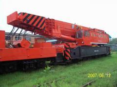 NS1602型三节臂铁路救援起重机(改进型)
