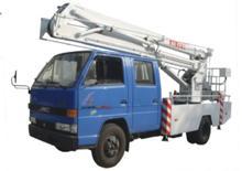 Aerial lift truck