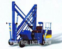 Aerial lift truck